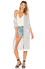 ale by alessandra x REVOLVE Lauretta Cardigan in Ivory & Navy