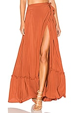 ale by alessandra x REVOLVE Molina Skirt in Burnt Umber