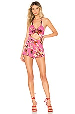 ale by alessandra x REVOLVE Marcella Romper in Pink Blossom