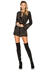 ale by alessandra x REVOLVE Edite Embellished Romper in Black