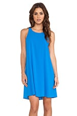 Audry Twisted Y Back Dress in Marina