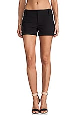 Cady Cuff Short in Black