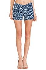 Cady Cuff Shorts in Denim