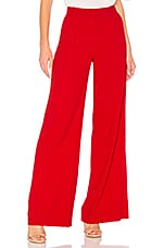 Alice + Olivia Eric Pant in Ruby