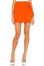 Alice + Olivia Riva Mini Skirt in Monarch