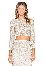 TOP CROPPED LACEY