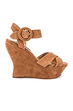 Alice + Olivia Jodiey Wedge in Umber