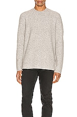 ALLSAINTS Harbour Crew in Tin Grey Marl