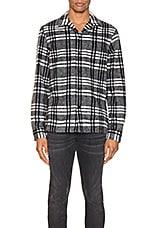ALLSAINTS Zenith Long Sleeve Shirt in Grey