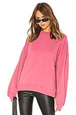 ALLSAINTS Dino Sweatshirt in Rose Pink
