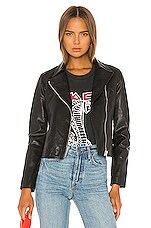 ALLSAINTS Vela Biker Jacket in Black