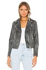 ALLSAINTS Dalby Iris Biker Jacket in Black
