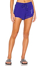 alo Ambience Short in Sapphire