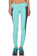 Illusion 3 Legging en Bleu Piscine & Bleu Brillant Ombré