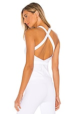 alo Harness Tank in White