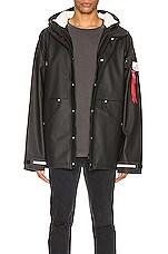 ALPHA INDUSTRIES x Stutterheim ECWCS Jacket in Black