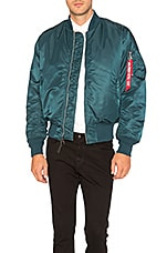 ALPHA INDUSTRIES MA 1 Bomber Jacket in Navy