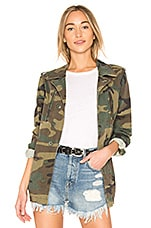 ALPHA INDUSTRIES French Field Coat in Woodland Camo