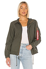 ALPHA INDUSTRIES G.I. Field Coat in Olive