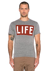 Life Tee in Triblend