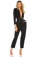 A.L.C. Kieran II Jumpsuit in Black