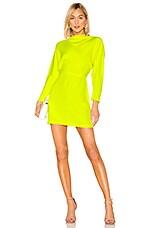 A.L.C. Marin Dress in Neon Yellow