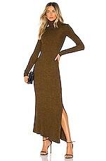 A.L.C. Emmy Dress in Honey & Black