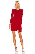 A.L.C. Hadley Dress in Apple Red