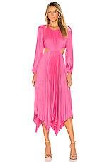 A.L.C. Naples Dress in Grapefruit