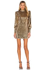 A.L.C. Christy Dress in Gold