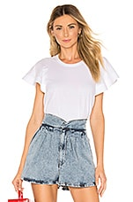 A.L.C. Carrie Top in White