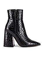 Alias Mae Ahara Bootie in Black Croc Patent