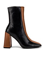 Alias Mae Twiggy Bootie in Black & Tan