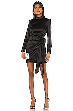 Amanda Uprichard X REVOLVE Yasmine Knot Dress in Black