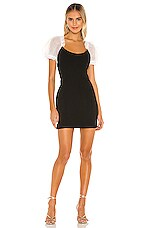 Amanda Uprichard Jolene Dress in Black