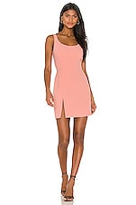 Amanda Uprichard Amabella Dress in Coral Rose