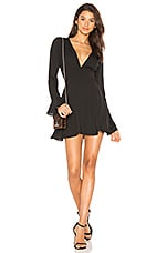 Amanda Uprichard Button Front Dress in Black