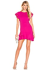 Amanda Uprichard Eclipse Dress in Hot Pink