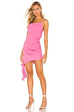 Amanda Uprichard X REVOLVE Violetta Dress in Shocking Pink
