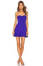 Amanda Uprichard Alanna Dress in Nu Blue
