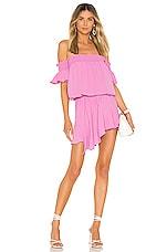 Amanda Uprichard Ariella Dress in Pompei Pink