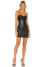 Amanda Uprichard Brigida Dress in Black