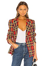 Amanda Uprichard Winters Blazer in Scotland Check