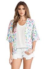 Amanda Uprichard Kimono Jacket in Floral