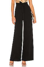 Amanda Uprichard Ariya Pant in Black