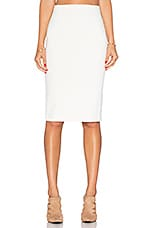 Pencil Skirt in Ivory