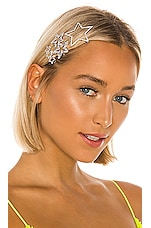 Amber Sceats Star Hair Clip Set in Silver