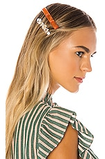 Amber Sceats Rosa Hair Clip Set in Amber
