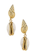 Amber Sceats Kelsi Earrings in Gold
