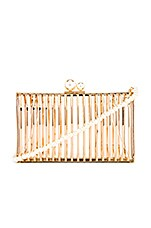 Amber Sceats Pearl Mini Bag in Gold
